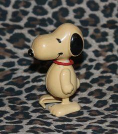 Vintage Snoopy Wind Up Toy 1960's