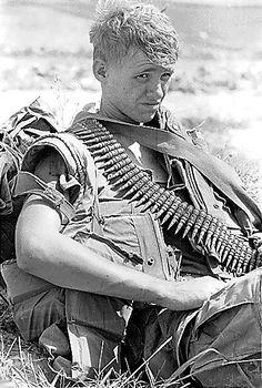 "historywars: "" US soldier in Vietnam. """