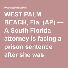 WEST PALM BEACH, Fla. (AP) — A South Florida attorney is facing a prison sentence after she was convicted for playing a role in Ponzi schemer Scott Rothstein's $1.2 billion fraud scam. A federal judge in West Palm Beach is set Tuesday to sentence Christina Kitterman. She was convicted in February by a jury on three wire fraud counts, each of which carries a potential 20-year prison sentence. Kitterman's attorney is seeking a more lenient sentence. Trial testimony showed that Rothstein asked…