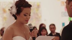 MANTHA and DONOVAN | A Christ Centered Wedding. by Cakeflix Wedding Films.  So beautiful!