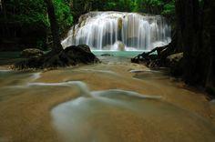 Cascada de Erawan – Kanchanaburi, Tailandia