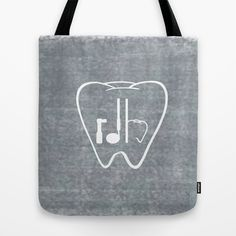 RDH Tooth Tote Bag by ProBoutique - $22.00 Registered Dental Hygienist / Dental Hygiene