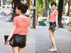 Green City Life <3 (by Lini Trinh) http://lookbook.nu/look/3033563-Green-City-Life-3