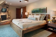 bed frame idea @ Courtney Terry