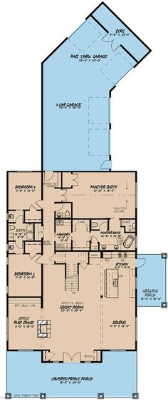 Shed Floor Plans Info: 1341003016 Link no good but like the floor plan. something to consider Shed Floor Plans Info: 1341003016 Link no good but like the floor plan. something to consider Shed Floor Plans, Barn House Plans, New House Plans, Dream House Plans, Shed Plans, Ranch Floor Plans, Metal House Plans, Unique House Plans, Unique Floor Plans