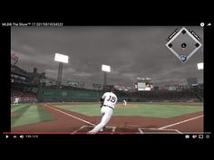 MLB® The Show™ 17 Red Sox 194 Pedrioa over the Green Monster