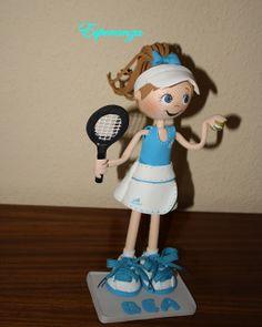 Fofuchas y otras manualidades: Bea la tenista