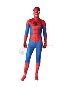 £24.99 for this spiderman skin suit.  Party Hippo offer price match against online retailers, ebay and amazon.  Free delivery on orders over £60