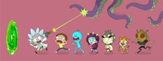 Rick and Morty Twitter Header Dope, Facebook Header, Twitter Headers, Rick And Morty, Twitter Backgrounds, Rick Y, Couple Wallpaper, Comic Movies, Fb Covers