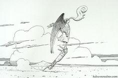 Moebius 1938 ~ 2012 - Halcyon Realms - Art Book Reviews - Anime, Manga, Film, Photography