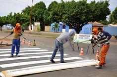 Prefeitura de Boa Vista ruas e avenidas do bairro Asa Branca recebem sinalização e sistema binário #pmbv #prefeituraboavista #boavista #roraima #obras