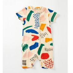 Designer Kids Fashion Clothes for the fashion-forward children from brands like Bobo Choses, Mini Rodini, Louise Gaultier, Atsyo et Akiko. Baby Outfits, Kids Outfits, Fashion Kids, Baby Jumpsuit, Baby Kind, Kid Styles, Summer Baby, Baby Wearing, Baby Bodysuit
