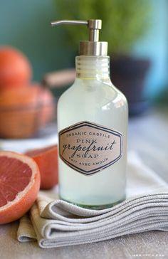 Dollar Store Crafts and DIY! Organic Liquid Soap