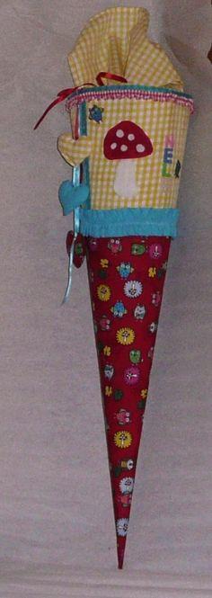 Schule & Kindergarten - Schultüte - ein Designerstück von Deko-Huette bei DaWanda