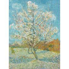 ixxi Muurdecoratie Peach Tree - 120 x 160 cm - afbeelding 1