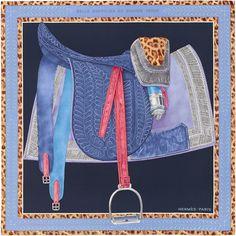 $395 H003108S 02 90 x 90 cm scarf Hermès   Selle d'Officier en Grande Tenue