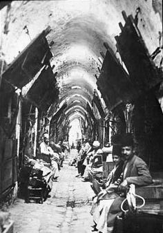 Şanlıurfa - Hüseyiniye çarşısı 1910