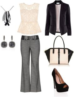 """""""Classy Business Outfit"""" by classicalgirl312 on Polyvore"""