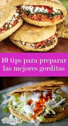 how to make gorditas Real Mexican Food, Mexican Cooking, Mexican Food Recipes, Gorditas Recipe, Deli Food, Tacos, Tostadas, Mexican Dishes, Love Food