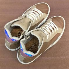 nat-2 | luxury wooden sneakers |nude coloured real wood with ultra iridescent back heel | made in Italy