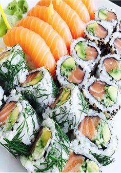 ~ Salmon Sushi