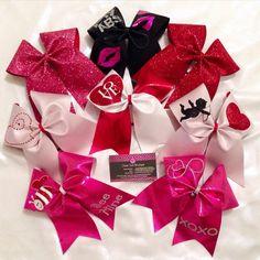 Valentine's Day Cheer Bow, Valentine's Day gift