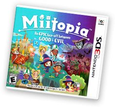 Personalize your own adventure with Mii characters based on your friends and favorite people in Miitopia™ for the Nintendo 3DS™ family of systems.