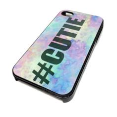 Apple iPhone 4 4S or 5 5S Case Skin Cover Hipster Hashtag Cutie Watercolor Cute   eBay