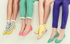 "Colores pasteles y look bn ""lady like"" love it! ^^"