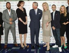 Keeley Hawes Photos Photos - Prince Charles, Prince of Wales speaks with (L-R) Tom Hardy, Keeley Hawes, Joanna Lumley, Adam Deacon and Emma Bunton during The Prince's Trust and L'Oreal Paris Celebrate Success Awards at the Odeon Leicester Square on March 14, 2012 in London, England. - The Prince's Trust