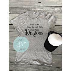Nerd Life Shirt Funny Nerd Shirt Dragon Shirt Nerdy Shirt Nerdy Gift... ($19) ❤ liked on Polyvore featuring tops, t-shirts, black, women's clothing, dolman t shirt, letter shirts, baseball t shirts, baseball tshirt and initial t shirts
