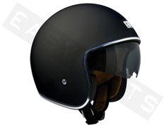 Helmet Jet CGM Vintage Mat Black
