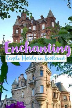 Castle Hotels in Scotland*** Scotland | Edinburgh | Glasgow | Scottish Highlands | Scottish Castles | Castles | Castle Hotels | Scottish Castle Hotels | Fairytale Castles | #scotlandtravel