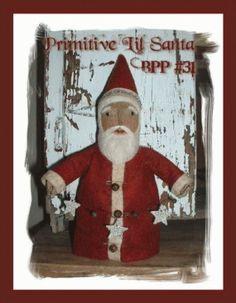 PatternMart.com ::. PatternMart: BPP31 Belsnickle Primitive Folk Art Santa…