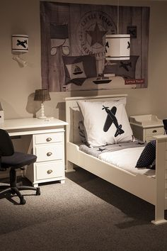 Stoere tienerkamers on pinterest bureaus html and roommate - Ideeen deco tienerkamer ...