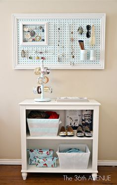 Frame a peg board