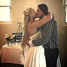 More on Bo Dallas Recent Marriage to Former WWE NXT Diva Sarah Bäckman - http://www.wrestlesite.com/wwe/bo-dallas-recent-marriage-former-wwe-nxt-diva-sarah-backman/