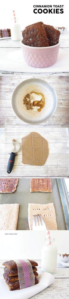 Easy recipe for Cinnamon Toast Cookies