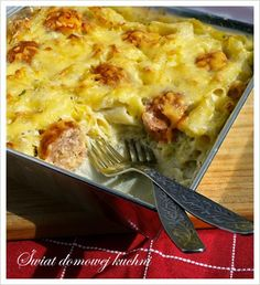 Polish Recipes, New Recipes, Polish Food, Easter Dishes, Fast Dinners, Mediterranean Diet Recipes, Bon Appetit, Pasta, Macaroni And Cheese