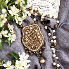 Кулон в стиле бохо с жемчугом и японским бисером) нашел хозяйку) #мастерская_син #sinbead #sinbeadjewelry #jewelry #necklace #boho #украшение #кулон #бохо