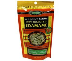 Seapoint Farms Dry Roasted Edamame    Frozen edamame isn't something you can pack with you in your purse or gym bag, so go for the dry roasted variety. A four-ounce pack costs $1.46, so a 1/4 cup serving (about 1/4 of the bag) will cost $0.37.