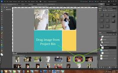 Collage for Blog: Using Project Bin with Tidy Collage