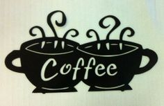 """Coffee- Wall Art (Metal Sign), Black Madison Manufacturing 574-633-4433.  18.25"""" x 10"""", 13.7 oz.  $20.02- price does not include shipping"""