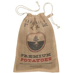 Now Designs Kitchen Burlap Potato Sack - NOD21712