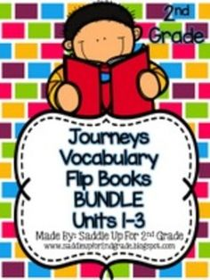 Journeys 2nd grade unit 1 lesson 3 dogs pinterest common cores journeys vocabulary flip book bundle units 1 3 2nd grade fandeluxe Image collections