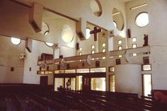Church - Pancho Guedes Maputo, Jazz, Chandelier, 1, African, Ceiling Lights, Interiors, Architecture, Design