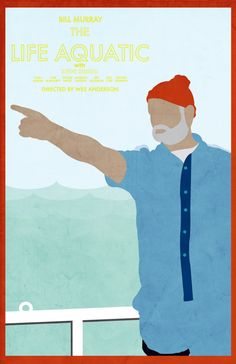 The Life Aquatic 11 x 17 movie poster by Printwolf on Etsy