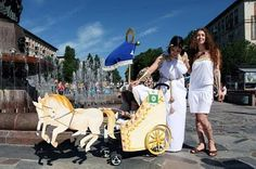 The Stroller Parade in Russia