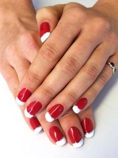 santa claus nail art http://www.allure.com/makeup-looks/2012/new-holiday-nail-art-ideas#