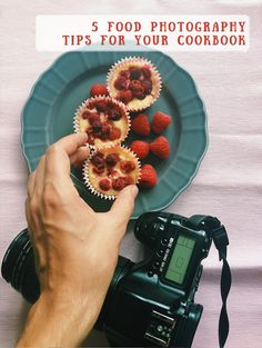 5 food photography tips for your cookbook